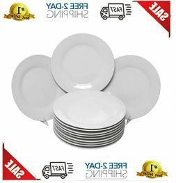 """10 Strawberry Street Catering Pack 10.5"""", Set of 12 Dinner P"""