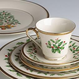 Lenox 146590600 5 Piece Holiday Plate Setting