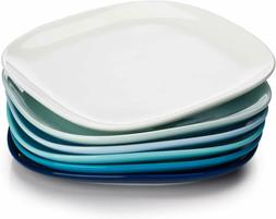 Sweese 152.003 Porcelain Square Dinner Plates - 10 Inch - Se