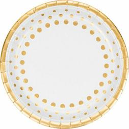 "Creative Converting 317839 8 Count Paper Dinner Plates, 9"","