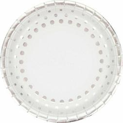 "Creative Converting 317846 8 Count Paper Dinner Plates, 9"","