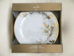 NEW Ciroa Luxe Thanksgiving Gold Leaves Pumpkin Patch Metal