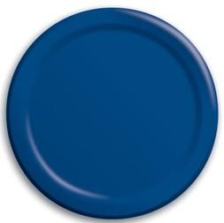 Creative Converting 471137B 8.75in Navy Dinner Plates 24 Cou