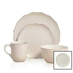 5143149 chateau cream 16 pc stoneware dinnerware