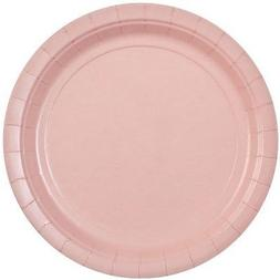 Party Dimensions 72692 20 Count Paper Plate, 8.75-Inch, Pink