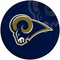 Creative Converting 8 Count St. Louis Rams Paper Dinner Plat
