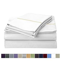 800 Thread Count 100% Long Staple Egyptian Cotton Sheet Set,