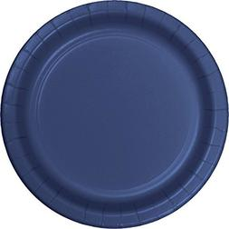 "Creative Converting #471137B 24CT 9""Navy Paper Plate"