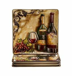 Certified International Tuscan View Dinner Plate, 10.75-Inch