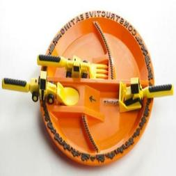 Constructive Eating Construction Plate with Construction Ute