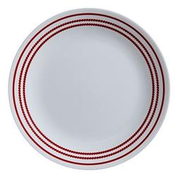 "Corelle Livingware Ruby Red 8.5"" Lunch Plate"