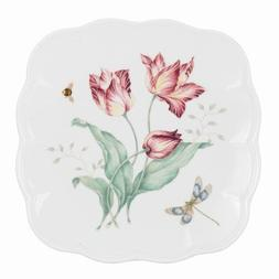 """Lenox Butterfly Meadow 9"""" Square Accent Plate"""