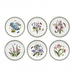 Portmeirion Botanic Garden Set of 6 Dinner Plates