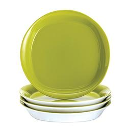 Rachael Ray Dinnerware Round and Square 4-Piece Stoneware Sa