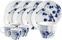 Royal Doulton Pacific 16 Piece Set Splash Dinnerware Set, Mu