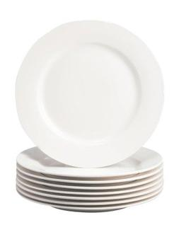 Thomson Pottery Basic White 8 PC Salad Plates