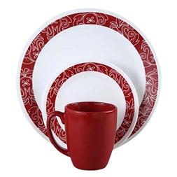 Bandhani 16-piece Chip-Resistant Dinnerware Set