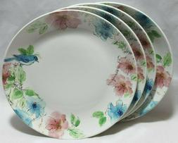 222 Fifth Bastia Multi-Color Bunny Floral Porcelain Dinner P