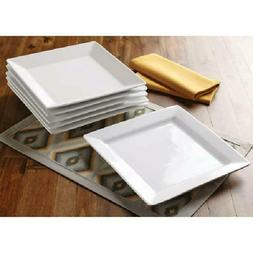better homes and gardens square dinner plates