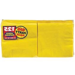 Big Party PackSunshine Yellow Luncheon Napkins| Pack of 125