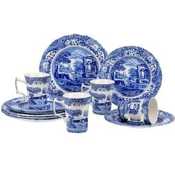 Spode - Blue Italian - 12 Pc Casual Dining Set