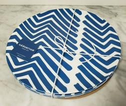 Marimekko For Target Blue White Traktori Dinner Plates Set o