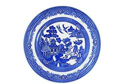 Churchill Blue Willow Fine China Earthenware Dinner Plate 10