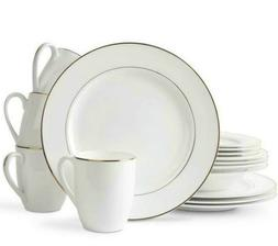 Bone China Dinnerware Plate Set Dinner Plates Cups 32-Piece