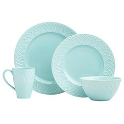 Lenox 4 Piece British Colonial Carved Place Dinnerware Set,