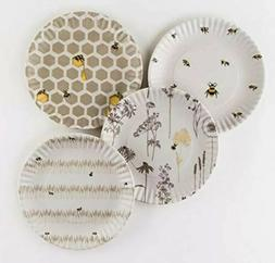 Busy Bees Dinner Plates Melamine 9 - Set Of Four