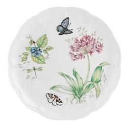 butterfly meadow bluefly dinner plate