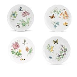 Lenox Butterfly Meadow Dinner Plate Assorted 4p set