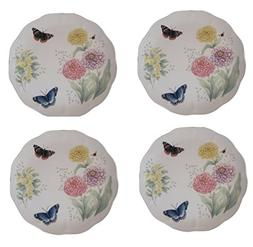 """Lenox Butterfly Meadow Red Admiral 10 7/8"""" Dinner Plate"""