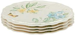 Lenox Buttterfly Meadow Set of 4 Melamine Dinner Plates