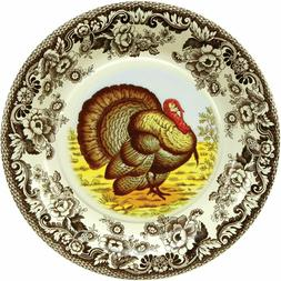 C.R. Gibson 8 Count Decorative Paper Dinner Plates, Easy Cle