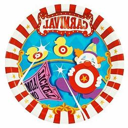 Carnival Games Party Supplies - Dinner Plates