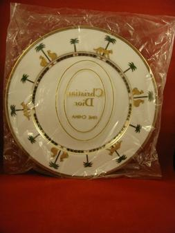 Christian Dior Casablanca Dinner Plates New in Plastic Wrapp