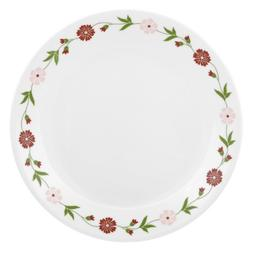 Corelle Contours Spring Pink 10-1/4-Inch Dinner Plate
