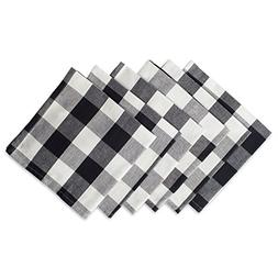 DII Cotton Buffalo Check Oversized Basic Cloth Napkin for Ev