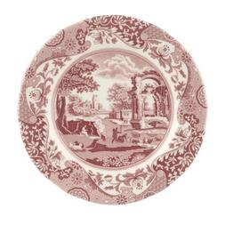 Spode Cranberry Italian Salad Plate