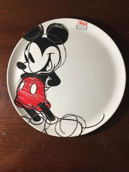 Zak Designs Mickey & Minnie Mouse 10-inch Plastic Plate, Mic