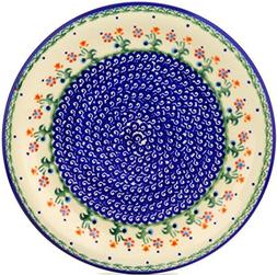Polish Pottery Dinner Plate 11-inch