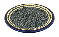 "Polish Pottery Dinner Plate 10.75"" Pattern DU1 from Zaklady"
