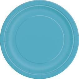 "Dinner Plates, 8.875"", Teal, 16 Count"