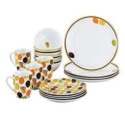 Rachael Ray Dinnerware Little Hoot 16-Piece Dinnerware Set