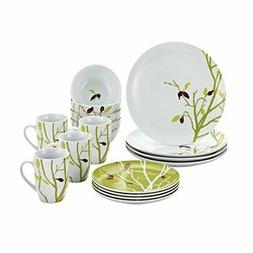 Rachael Ray Dinnerware Seasons Changing 16-Piece Porcelain D