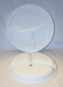 "SET OF 2 - Corning Corelle Vitrelle White "" Winter Frost "" D"