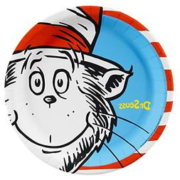 Dr Seuss Party Supplies - Dinner Plates