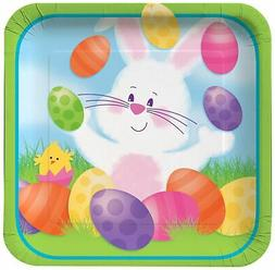 Easter Bunny's 9-inch Paper Plates 8 Per Pack