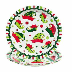 Elf Paper Dinner Plates - 8 Ct. - Party Supplies - 8 Pieces
